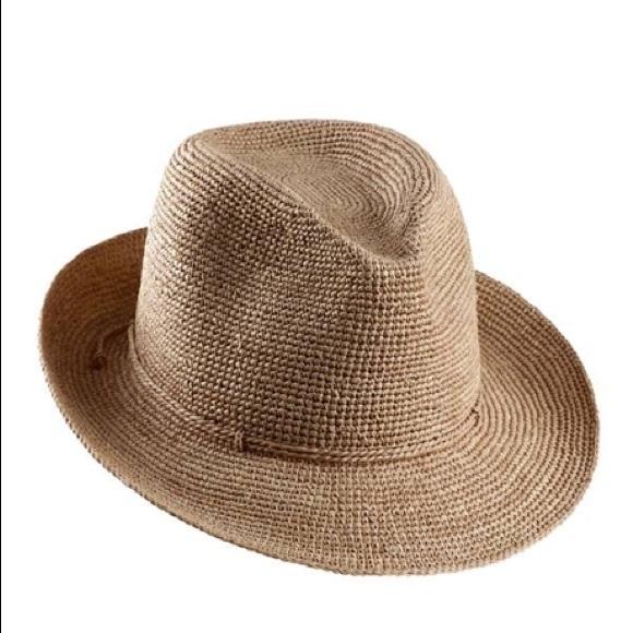 d644196c5973a NWT Helen Kaminski Fai Raffia Sun Hat Fedora
